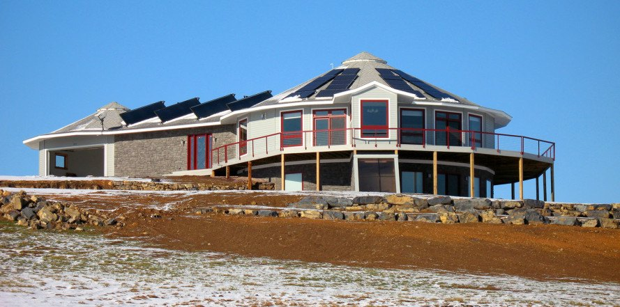 Resilient Home, Hurricane Resistant Home, Round Prefab Home, Round Home,  Disaster Proof
