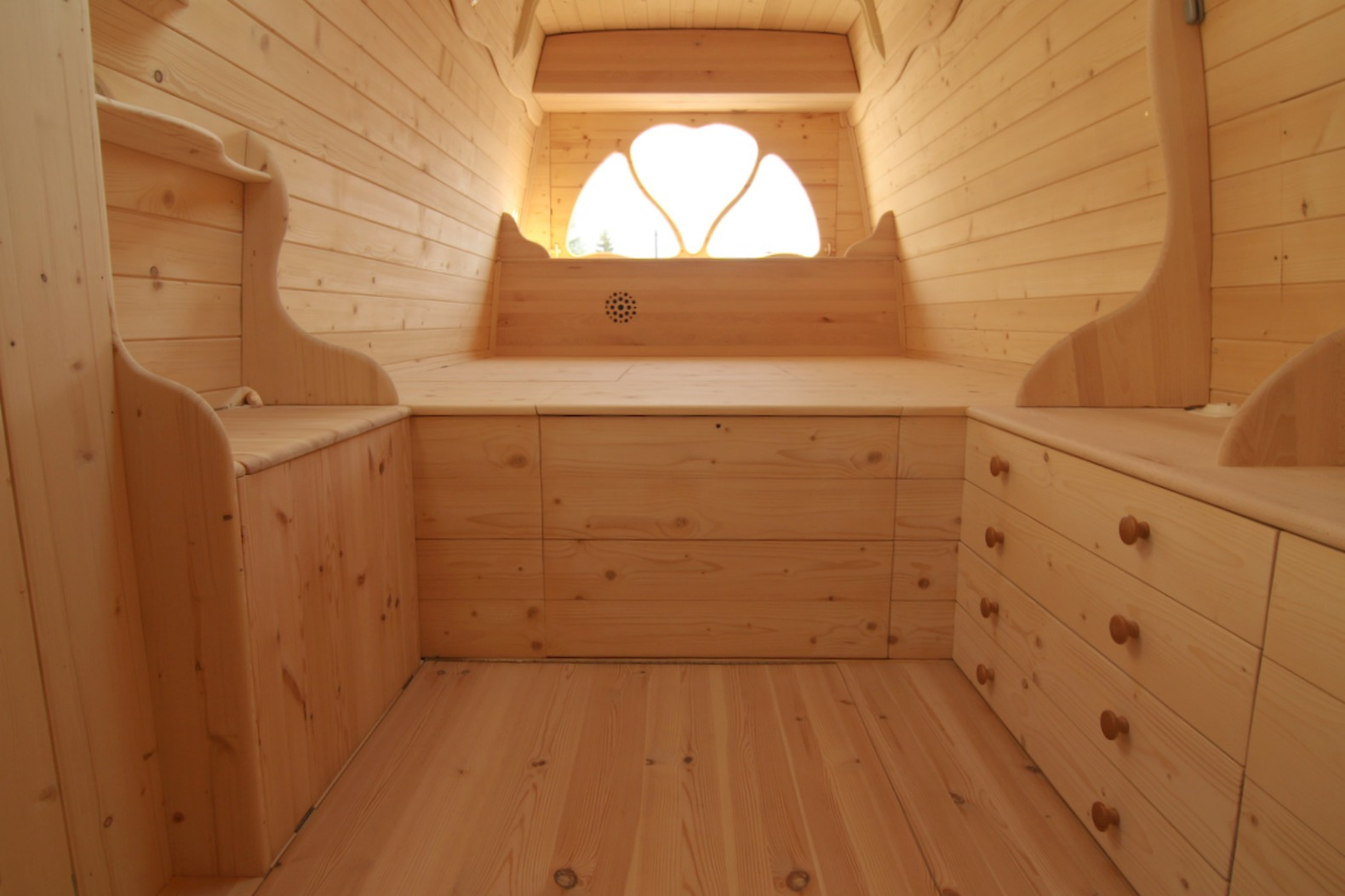 Amazing Diy Van Conversion Even Boasts A Wood Burning