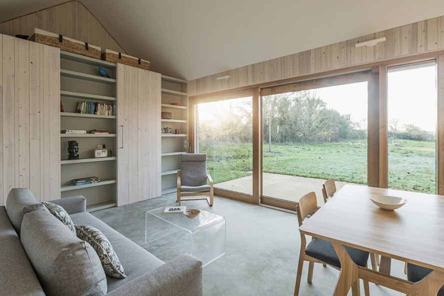 Garden Buildings Warmington, Ashworth Parkes Architects, agriculture, agricultural buildings, UK, Dorset, greenhouse, timber cladding, timber, corten steel, green architecture