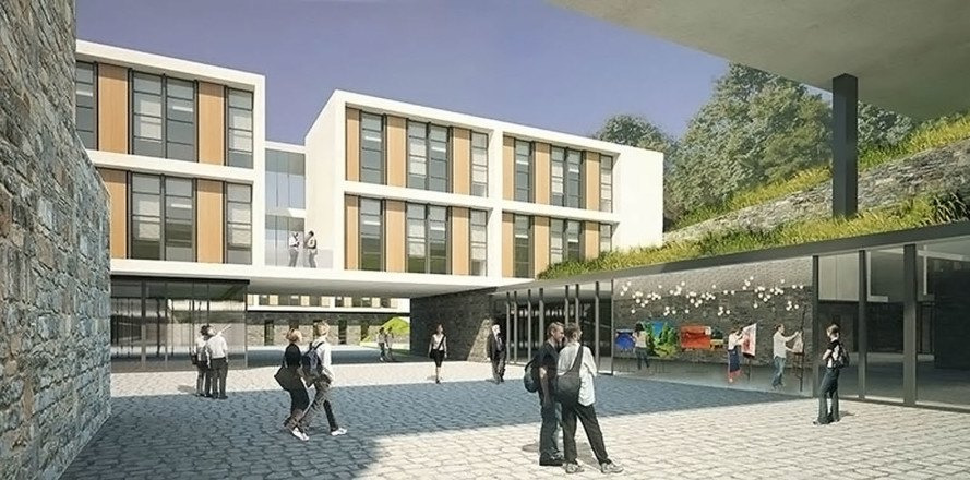 Green Gokceada School Campus In Turkey Will Double As A Community Space That Is Open 24 Hours A Day