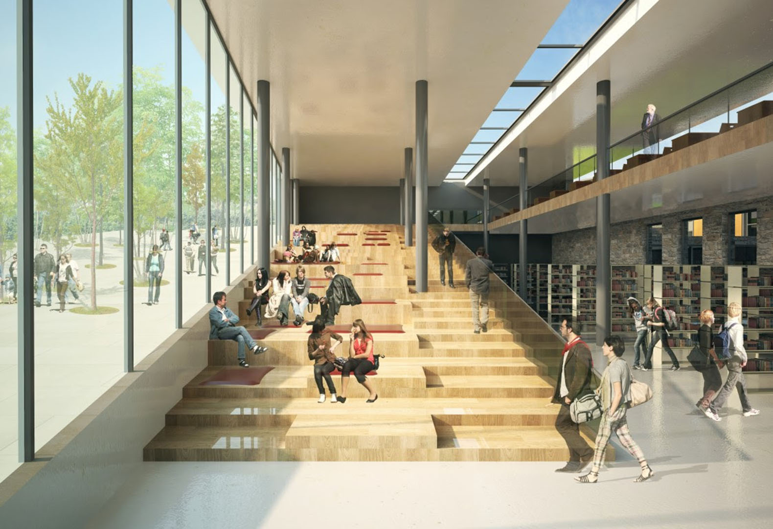 Green gokceada school campus in turkey will double as a for New space architects