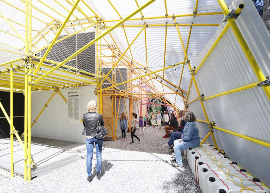 SelgasCano, Jose Selgas, Kibera, polycarbonate plastic, low-cost materials, low-cost school, Kibera Hamlets School, temporary pavilion, Iwan Baan, Helloeverything, Louisiana Museum of Modern Art, Second Home,