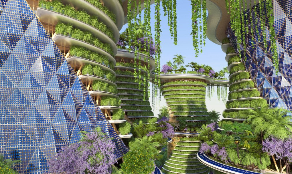 Urban Farming Utopia In India Produces More Energy Than It