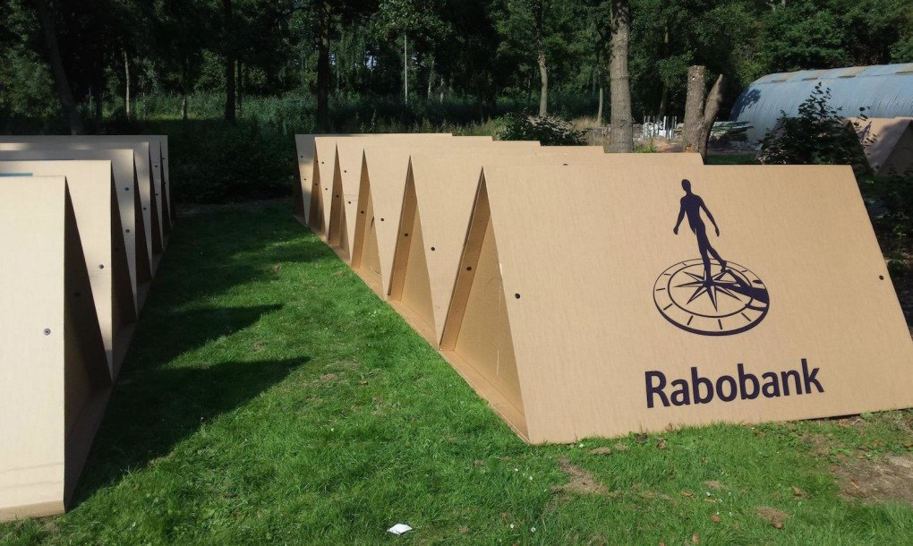 Kartent 100 Recyclable Cardboard Tents Could Solve The