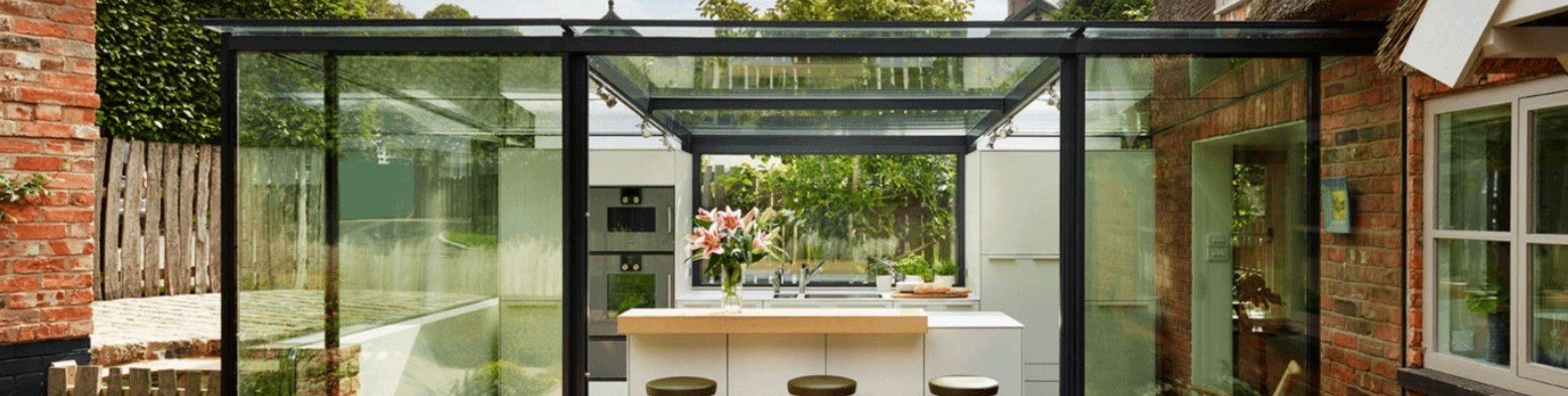 18th Century Thatched Roof English Cottage Renovated With Glass Enclosed Kitchen  Extension | Inhabitat   Green Design, Innovation, Architecture, ...
