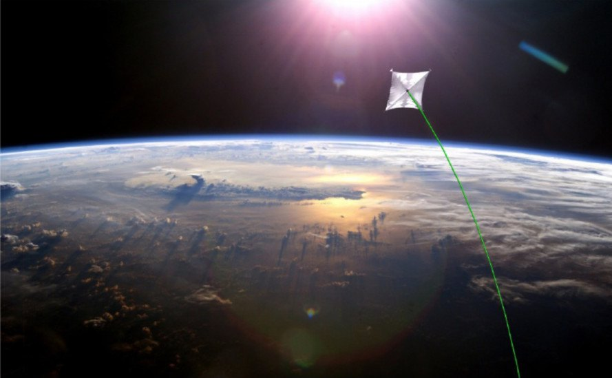 nasa, mars, space travel, speed of space travel, laser propulsion, Philip Lubin, solar sails, speed of light, DE-STAR