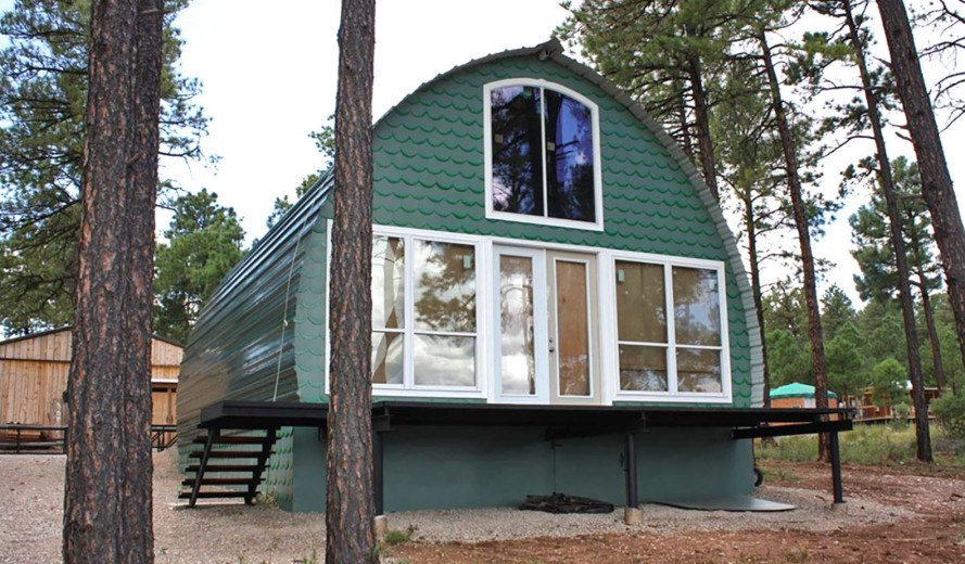 Prefabricated arched cabins can provide a warm home for under prefabricated cabins arched cabins affordable galvanized steel cabins texas prefab cabins warm solutioingenieria Gallery