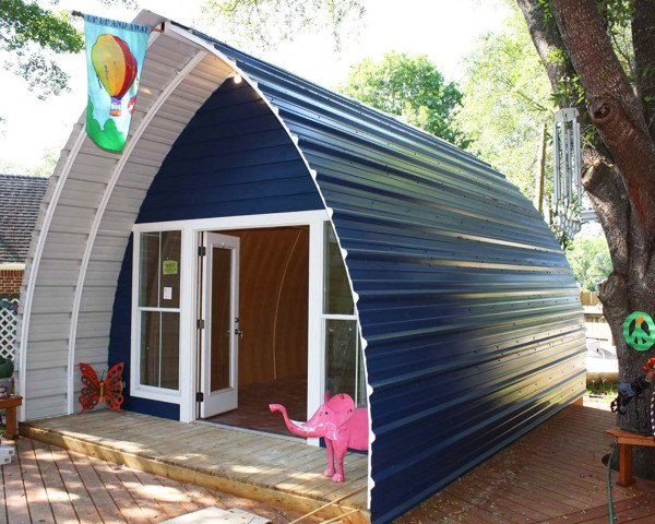 Prefabricated arched cabins can provide a warm home for under prefabricated arched cabins can provide a warm home for under 10000 inhabitat green design innovation architecture green building solutioingenieria Choice Image