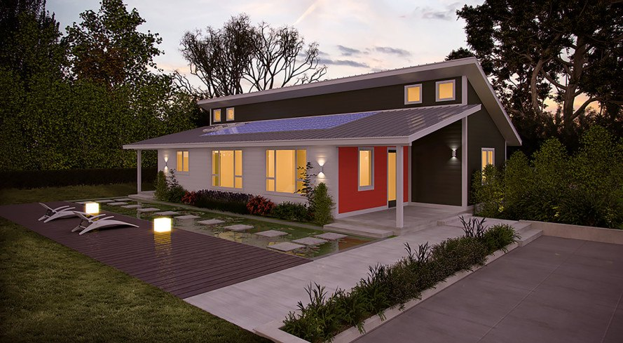 Deltec Launches Line Of Super Efficient Net Zero Energy Homes - net zero energy home design