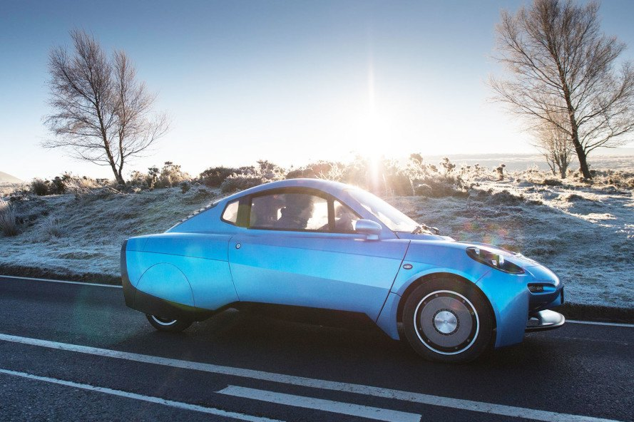 Riversimple Hydrogen Ed Car