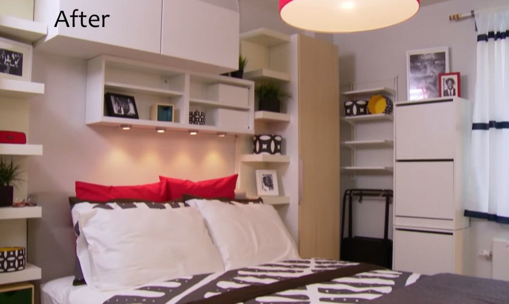 see ikea s smart makeover of this 300 sq ft bronx studio apartment
