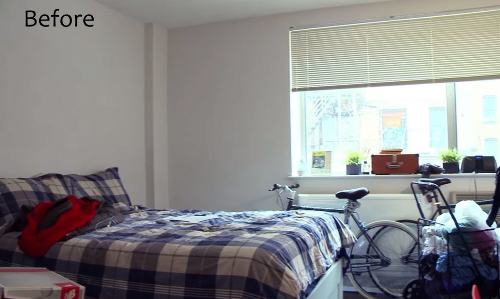 See Ikea S Smart Makeover Of This 300 Sq Ft Bronx Studio