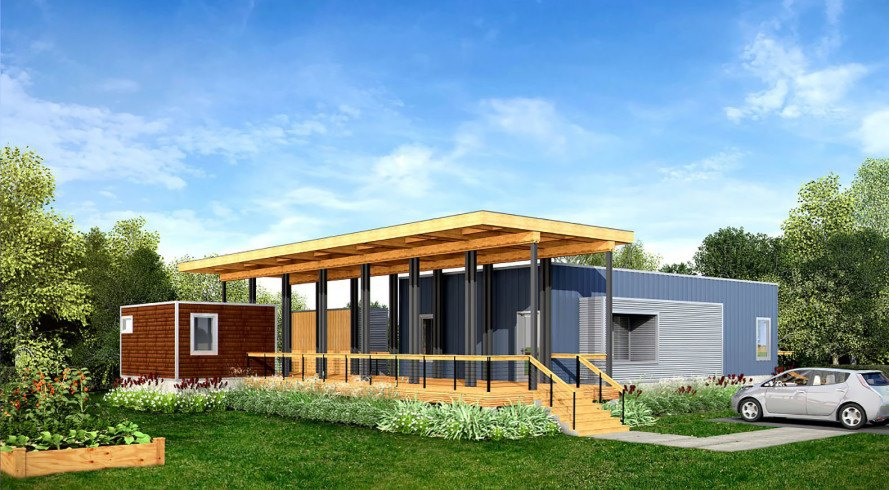 resilient home, hurricane resistant home, round prefab home, round home, disaster proof home, net-zero energy homes, Deltec Homes, hurricane-resistant homes, prefabricated homes from Asheville, Deltec Renew Collection, prefabricated homes that ship anywhere in the world, net-zero energy prefabricated homes, Deltec net zero energy,