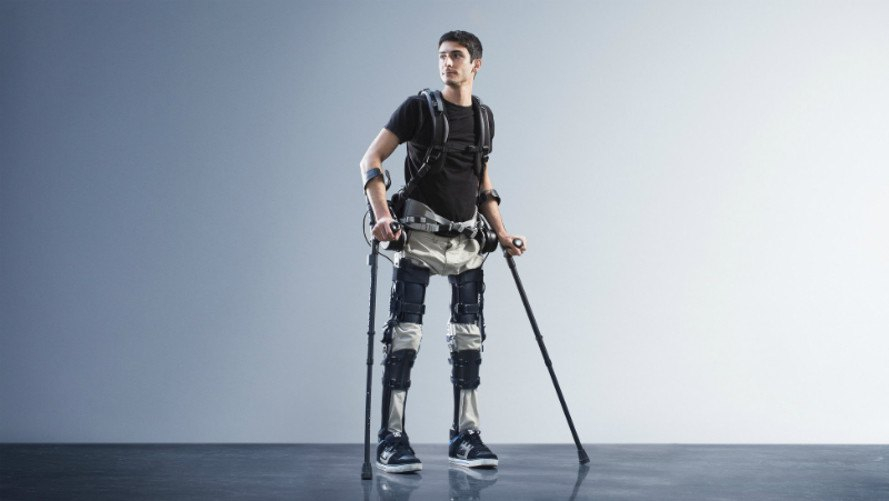 phoenix, suitx, robotic exoskeleton, prosthetics, medical equipment, steven sanchez, restoring mobility to paralyzed, helping paralyzed people walk, Homayoon Kazerooni, uc berkeley