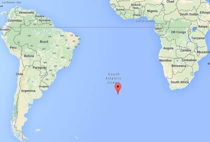 Farmer Wanted To Grow Food On The World's Most Remote Inhabited: Tristan Da Cunha Map At Slyspyder.com