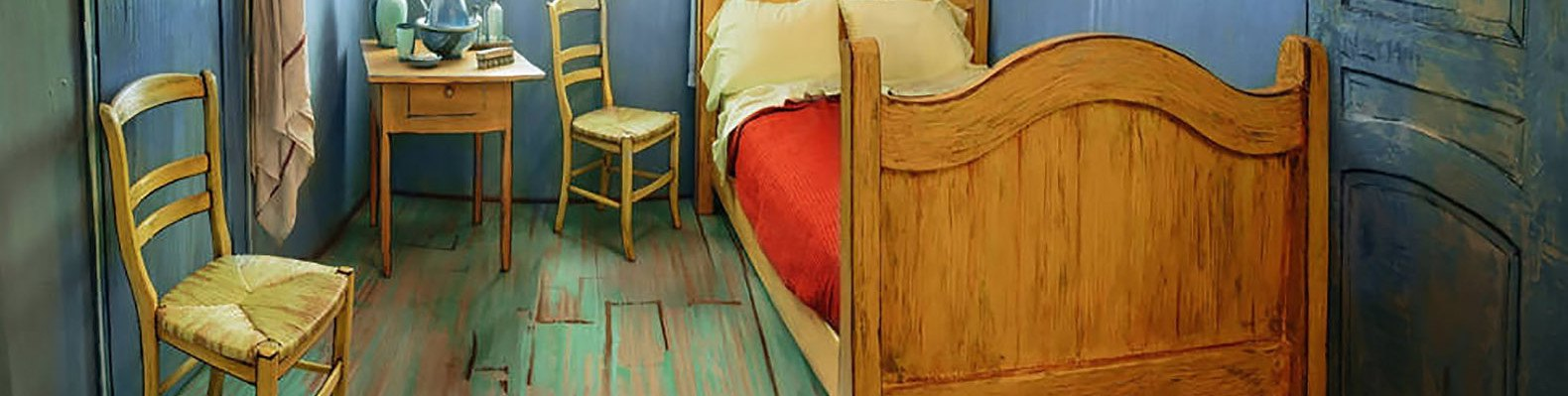 Life Sized Replica Of Van Gogh S The Bedroom To Rent On Airbnb For