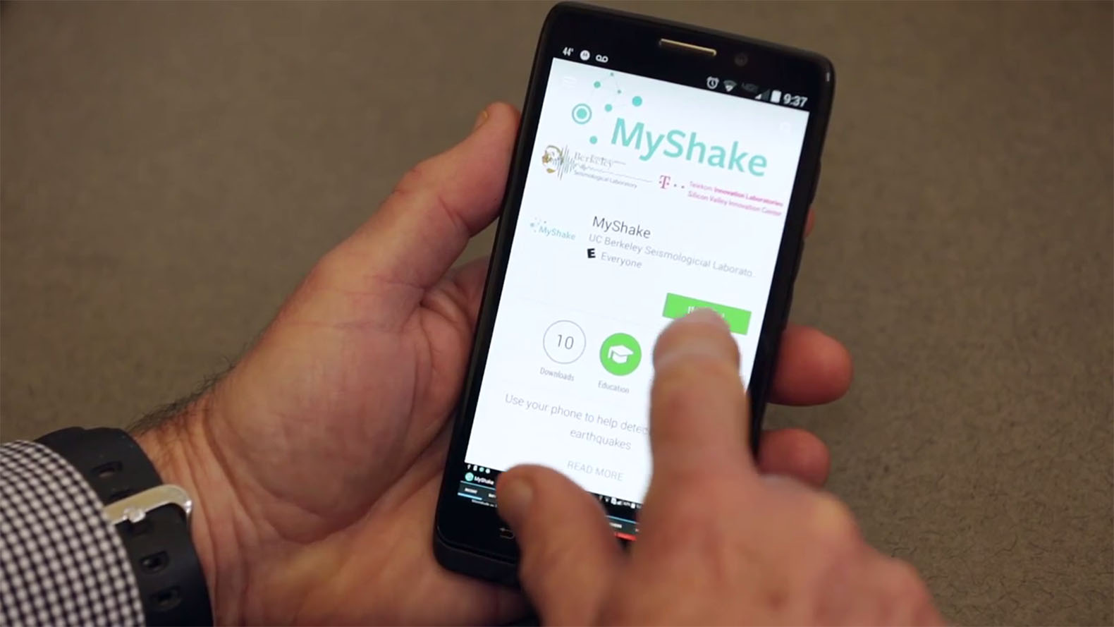 New app uses smartphones to help predict earthquakes