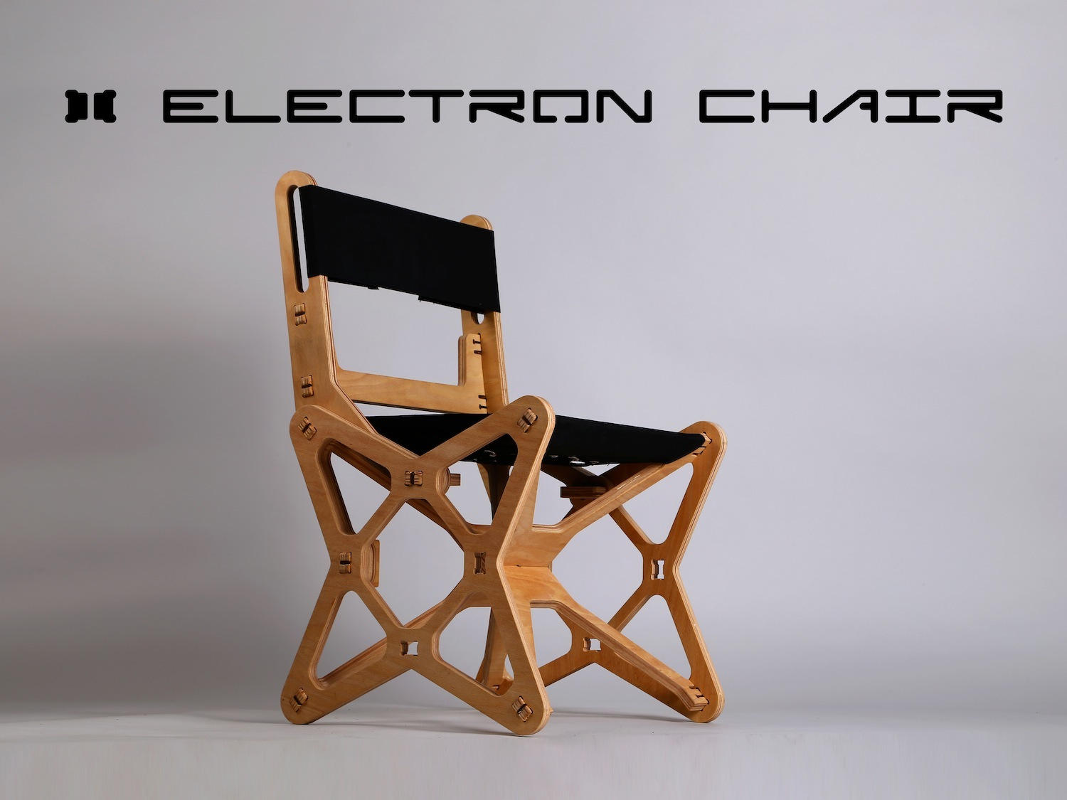 Flat Pack Electron Chair Is CNC Milled From Beech Plywood For Zero Waste