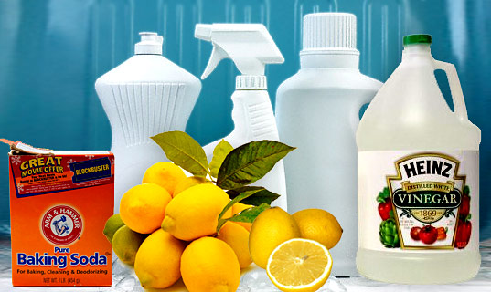 Make cleaning products at home