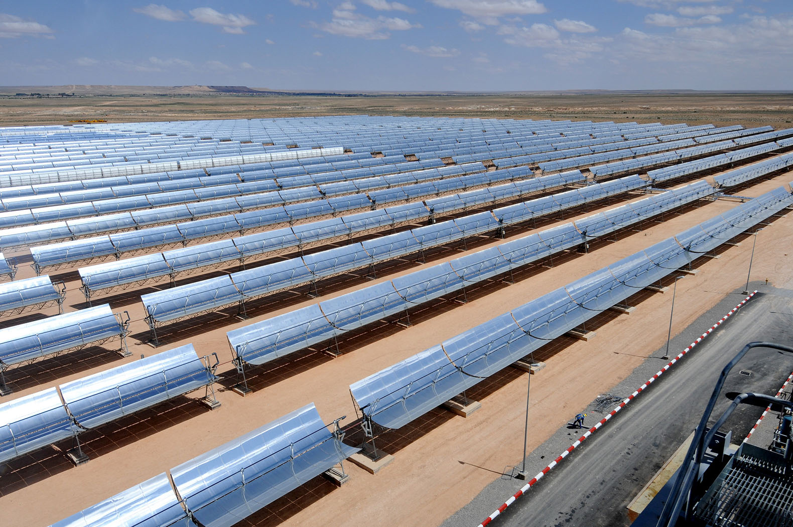 Morocco switches on phase one of the world's largest solar plant
