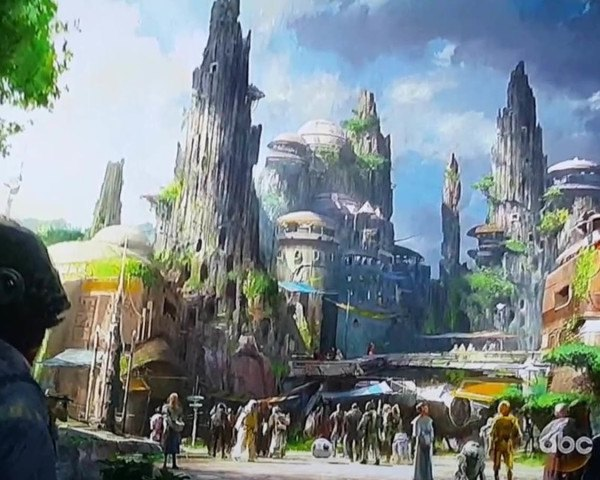 concept art, star wars, disney, theme parks, disneyland, walt disney world, sci fi, science fiction, aliens, outer space, space ships