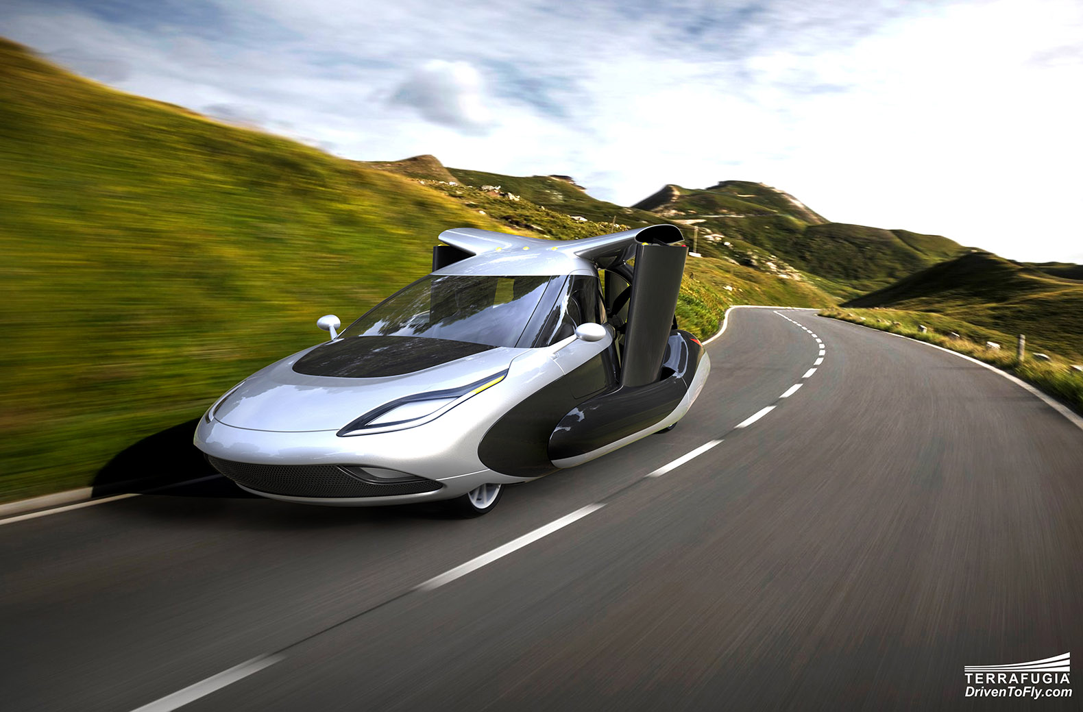 Terrafugia\'s flying car will be a reality by 2018 | Inhabitat ...