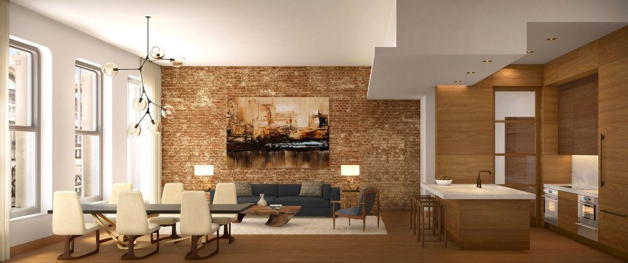 60 White Streets Masterfully Restored Loft Residences Marry History Luxury And Sustainability In Tribeca