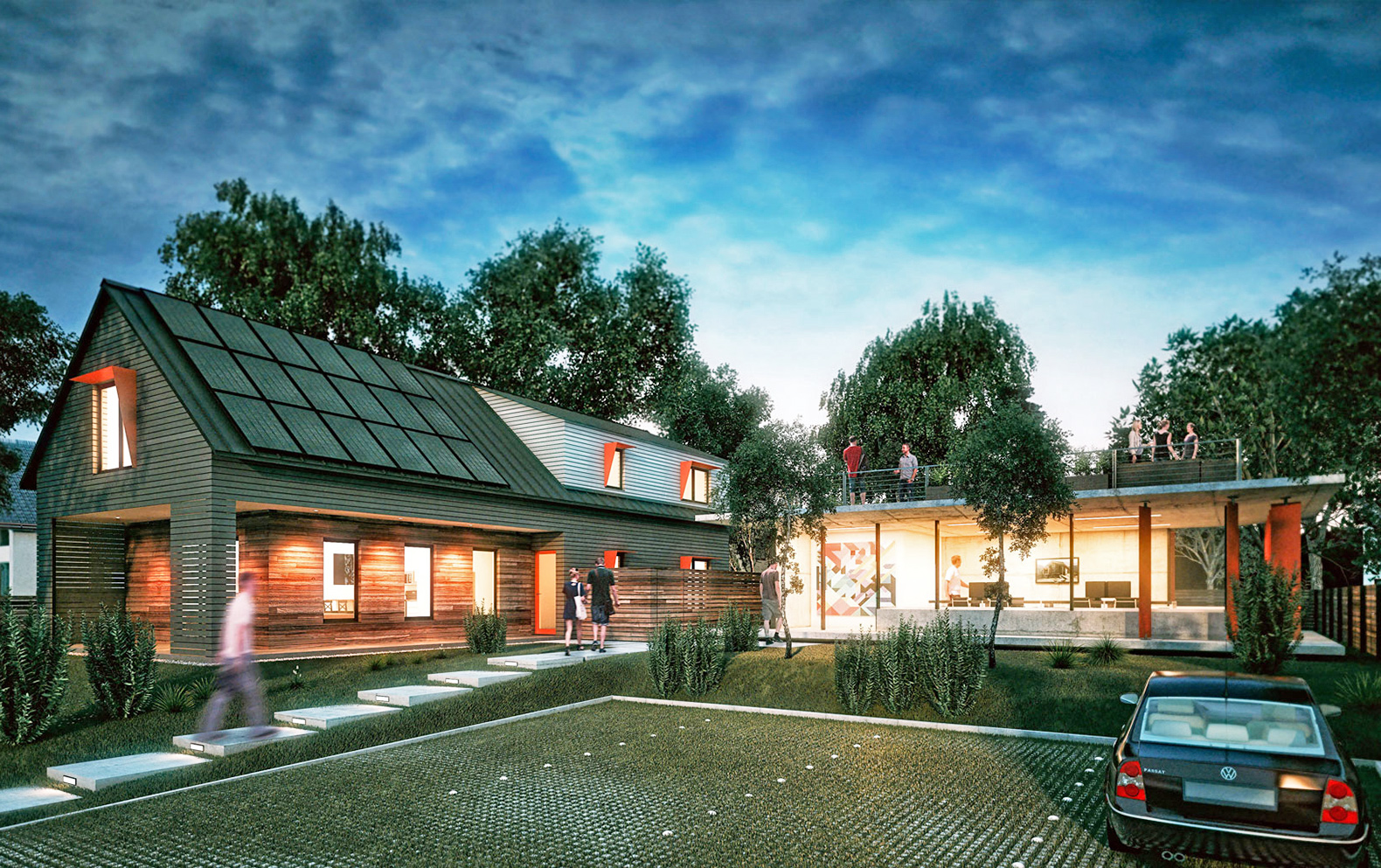 Could this venture backed zero energy house revolutionize for Net zero energy homes