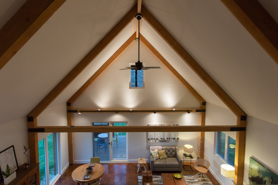 Griffin House Interior, Vaulted Ceilings, Cathedral Ceilings, A Frame  Ceilings, Gabled