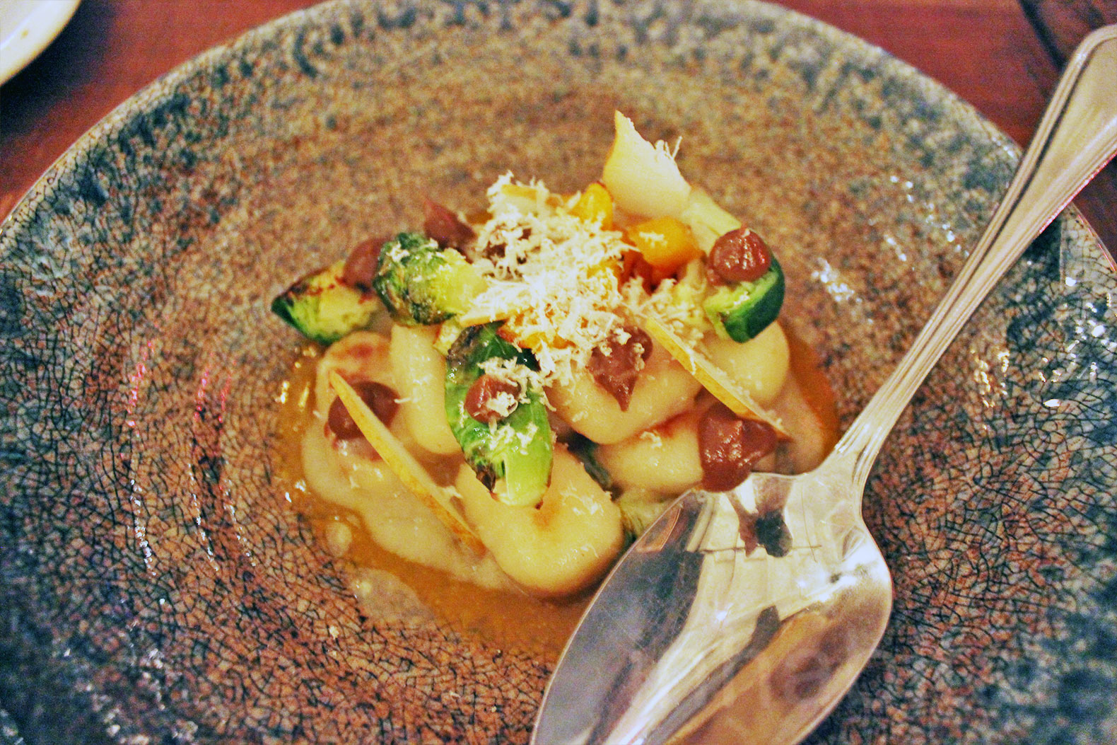 Avant Garden serves up delectable vegan delicacies in a twinkly LES ...