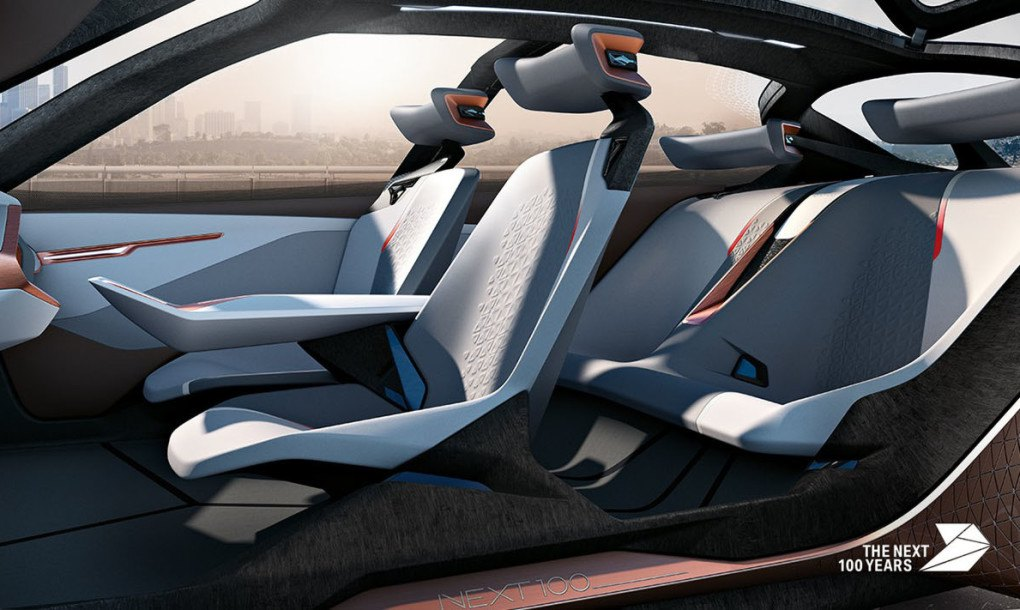 Bmw S Crazy Shape Shifting Vision Next 100 Car Is Straight