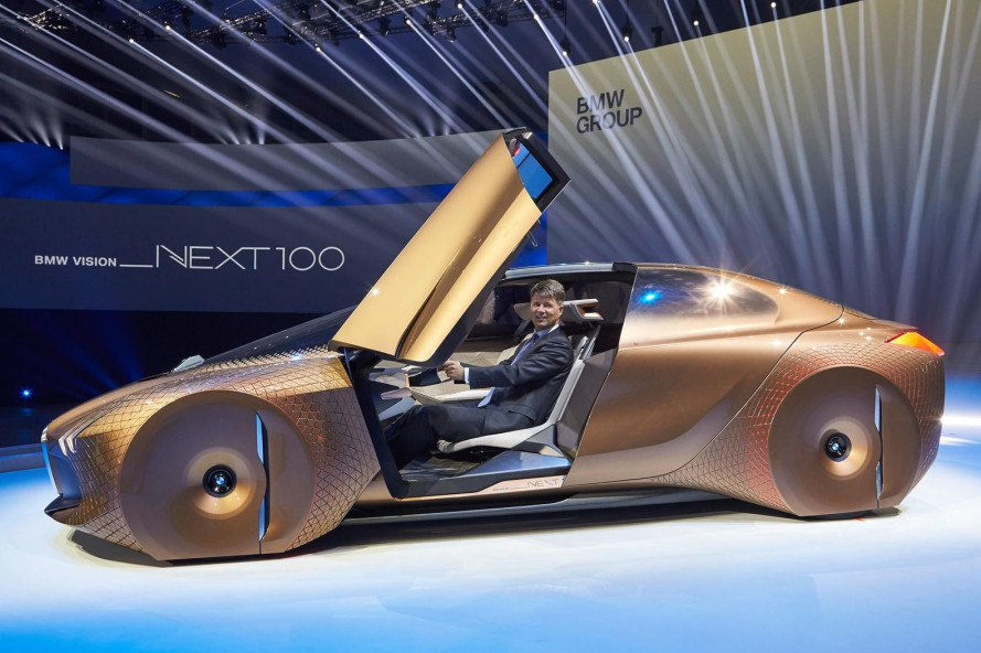 BMW, Vision Next 100, car of the future, vision of the future, Munich, BMW Vision Next 100