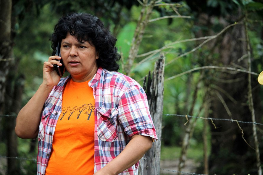 Berta Cáceres, Honduras, COPINH, environmental activists, human rights activists, Honduran government