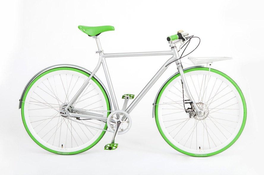 Vélosophy, bicycle, bike, sport edition, sport edition green, green, UNICEF
