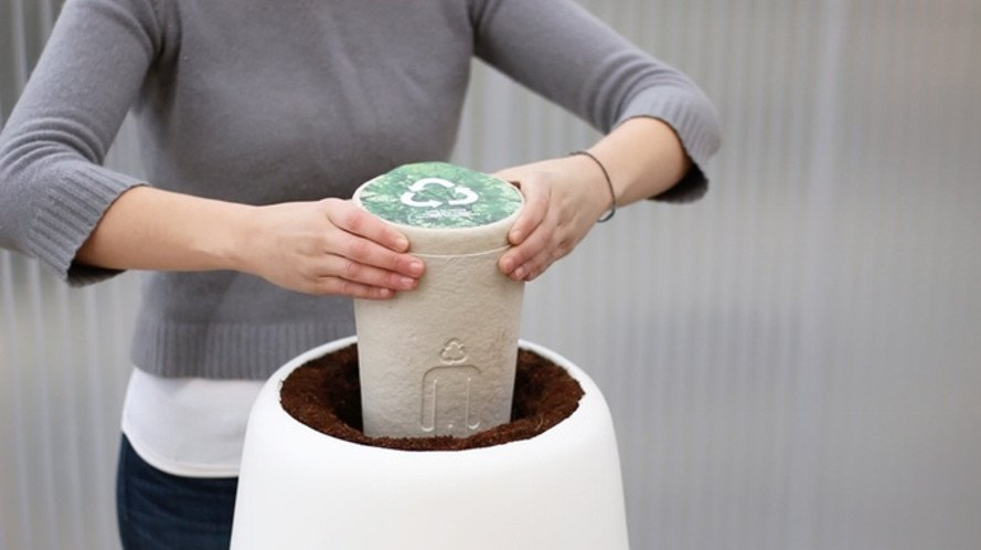 bios urn, bios incube, biodegradable urn, cremation, cremated remains, eco-burial, alternative to burial, memorial tree, planting human remains, planting human ashes, turning ashes into trees, kickstarter