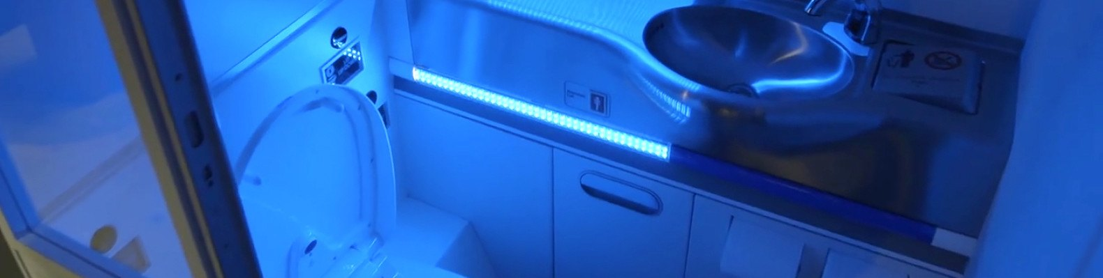 Boeingu0027s New Self Cleaning Airplane Bathroom Annihilates Microbes With UV  Light | Inhabitat   Green Design, Innovation, Architecture, Green Building