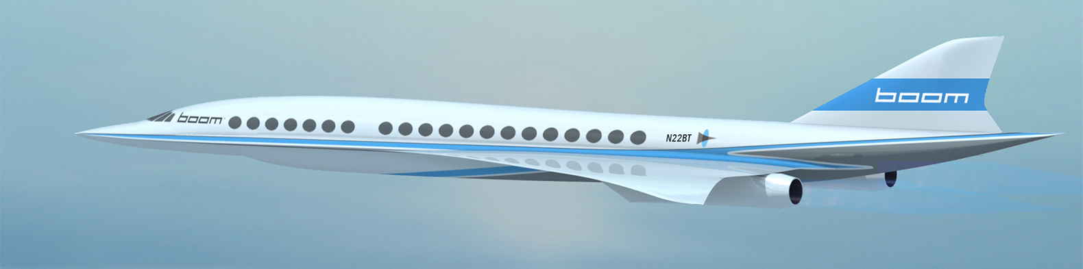 Supersonic jet will travel from New York to London in 3 hours at half the price of the Concorde