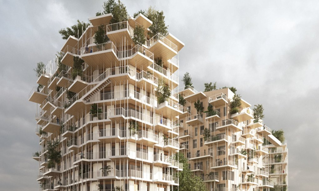 Bordeaux Canopia Tower Will Be One Of The Tallest Timber