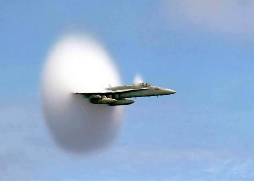 breaking the sound barrier, supersonic, supersonic jet, supersonic passenger jet, Chuck Yeager, NASA, pilot, aviation