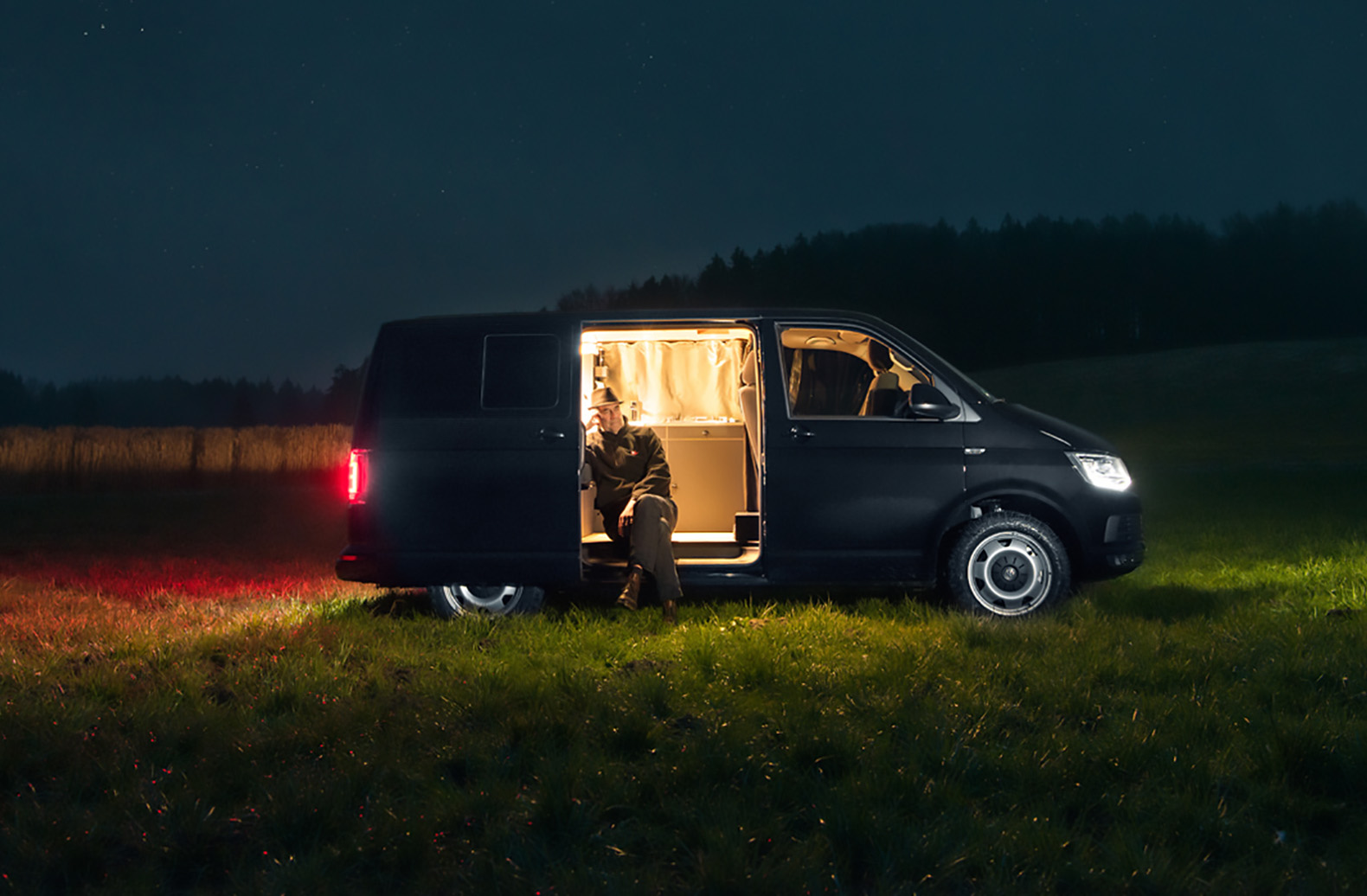 Nondescript VW Van Hides A Gorgeous And Chic Mobile Home