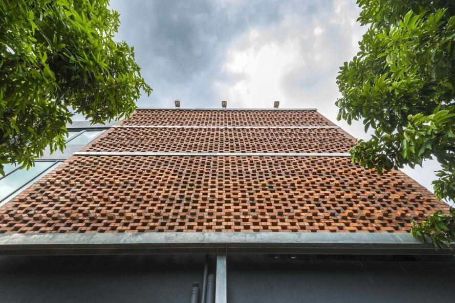 Clay Roof House By DRTAN LM Architect Inhabitat Green