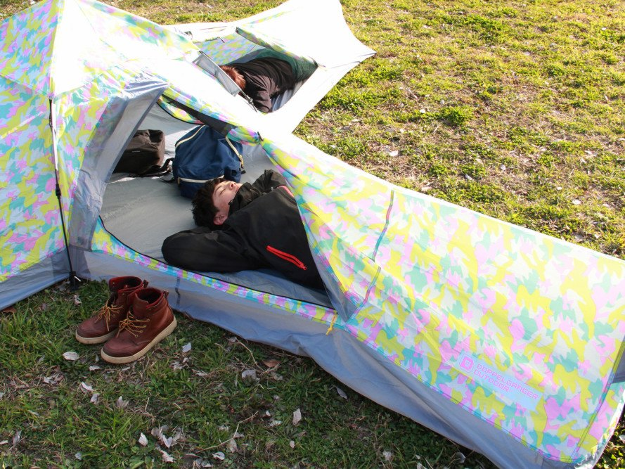 Crazy X Tent, Crazy X, tent, camping, outdoors, camping gear, Doppelgänger, Japanese design