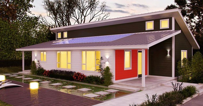 Deltec launches line of super efficient, net-zero energy homes – starting under 100K
