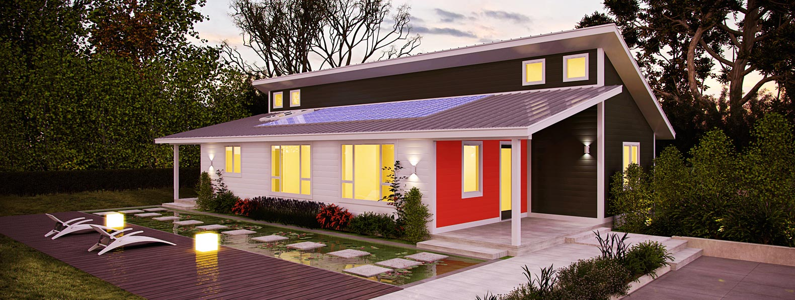 Deltec launches line of super efficient net zero energy for Zero house plans