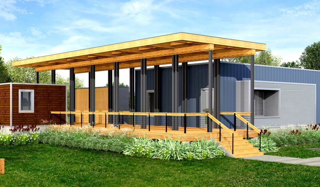 Deltec launches line of super efficient net zero energy for Build a house for under 100k