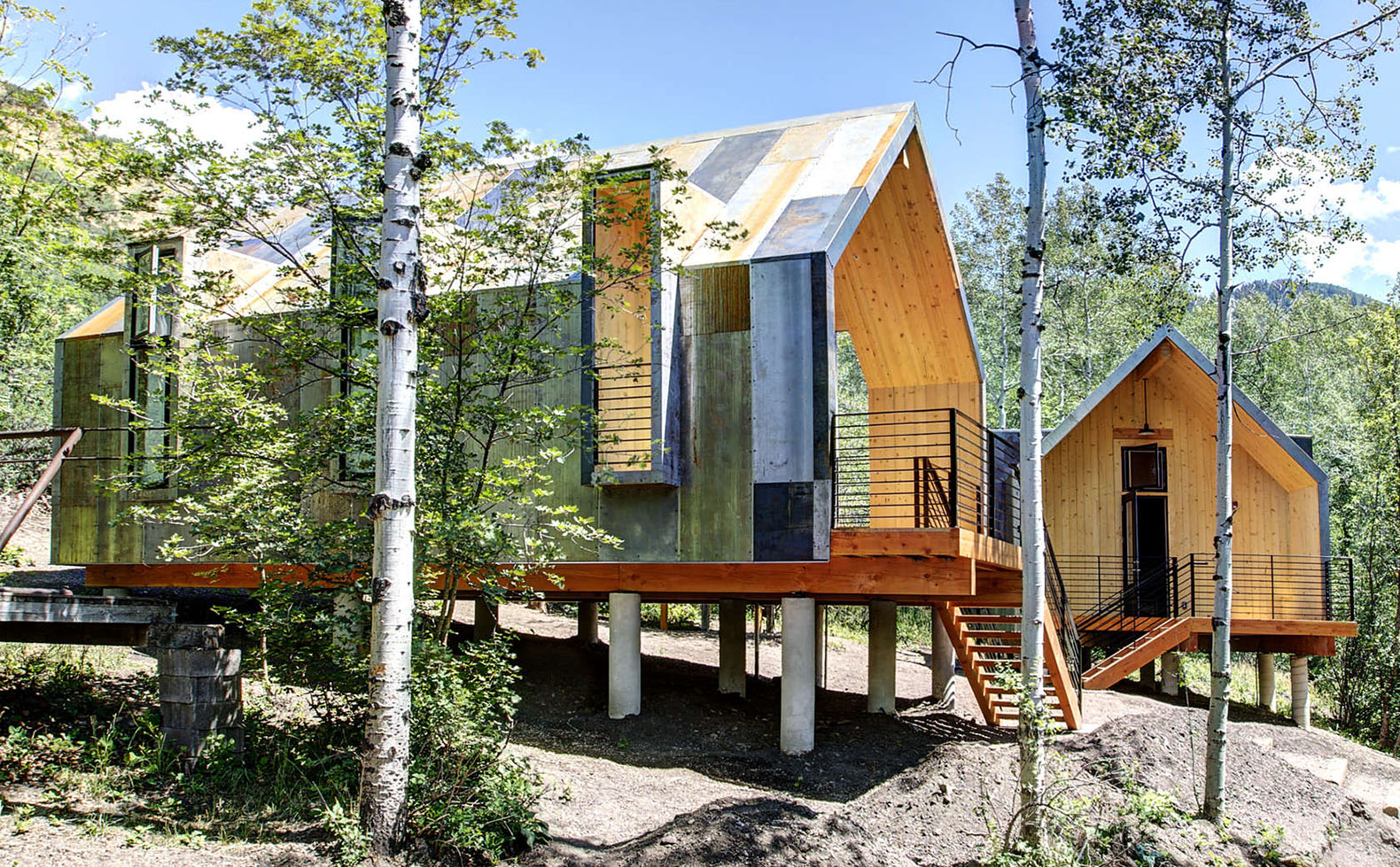 The Girl Scouts of Utah built impressive summer cabins without a single drop of glue