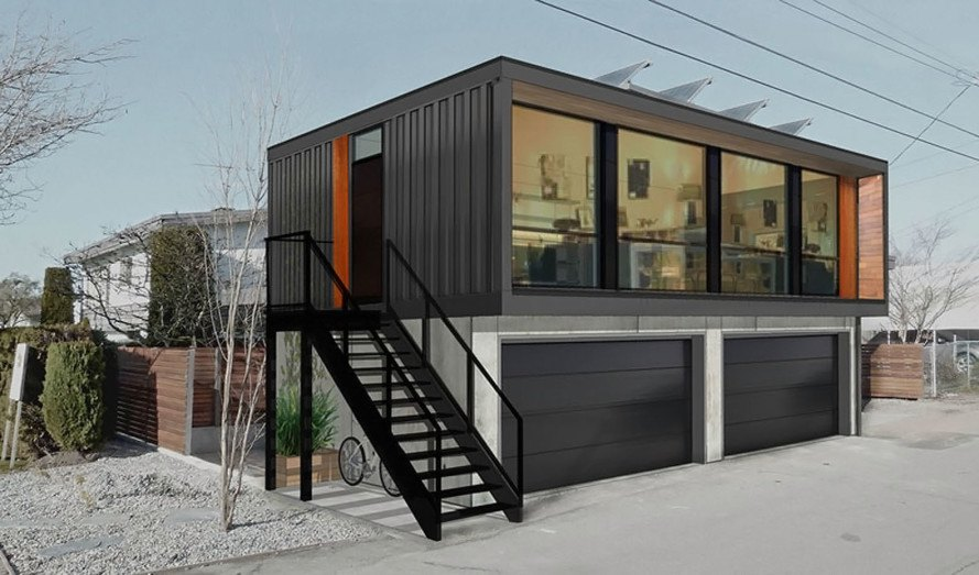 Sea Container Houses you can order honomobo's prefab shipping container homes online