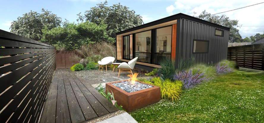 You can order HonoMobo's prefab shipping container homes online