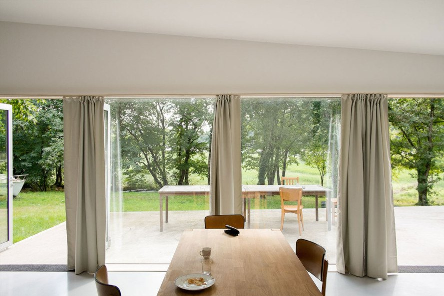 House JJ & S.M by Atelier MIMA, Nivillac architecture, holiday getaway in France, holiday home in France, holiday countryside home in France,
