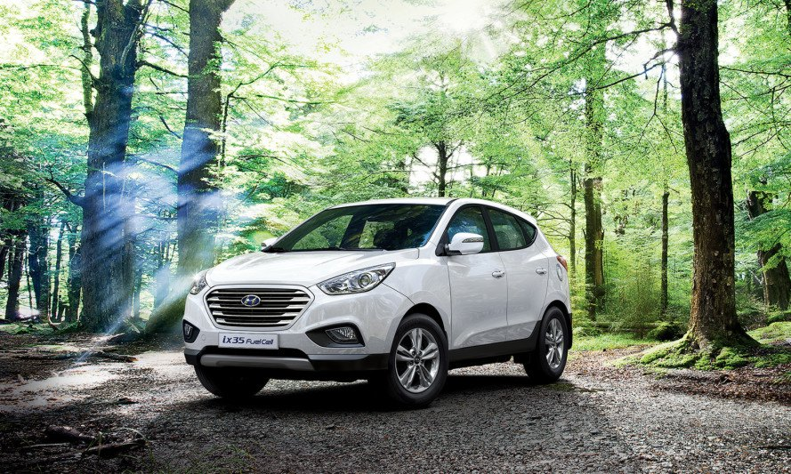 Hydrogen fuel cell, hydrogen-powered car, Hyundai ix35 Fuel Cell, London Hydrogen Network Expansion, alternative fuels, eco-friendly vehicle record